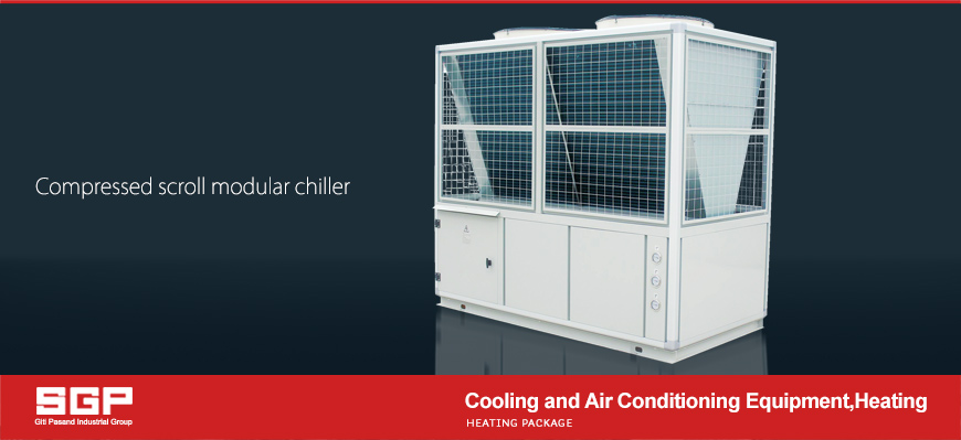 SGP Cool Air Scroll Modular Chiller